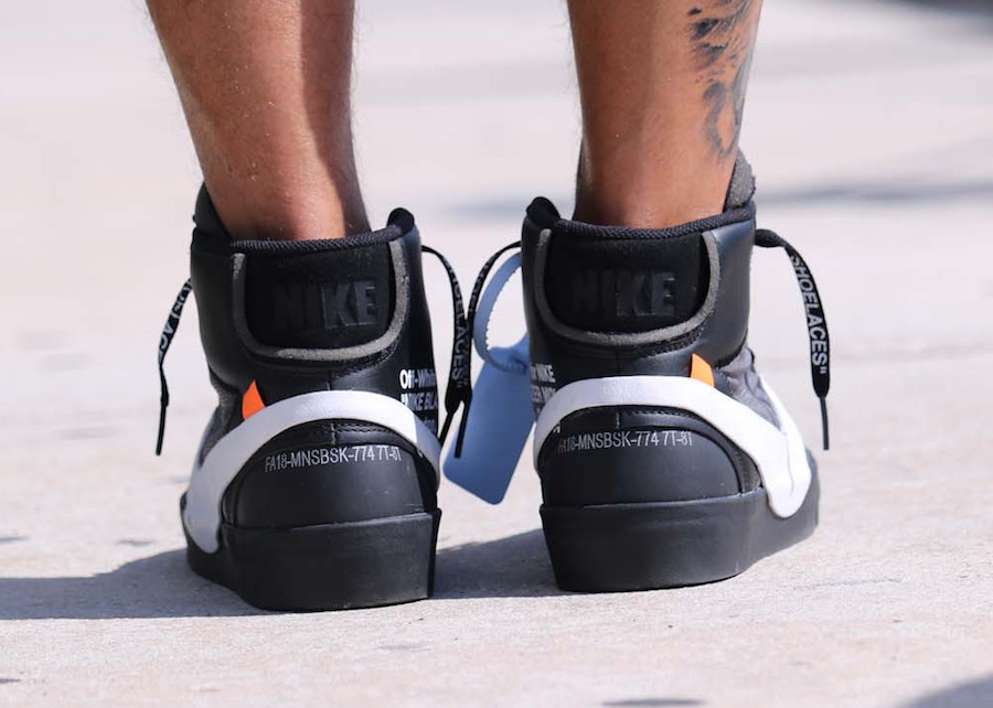 "Off-White x Nike Blazer Mid ""Grim Reaper"""