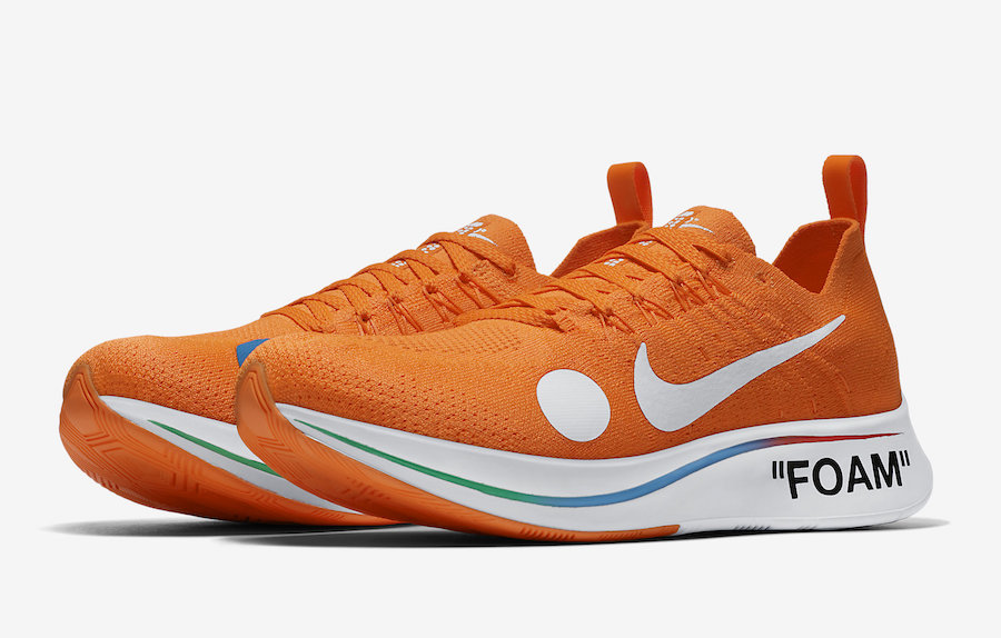 Off-White x Nike Zoom Fly Mercurial Flyknit
