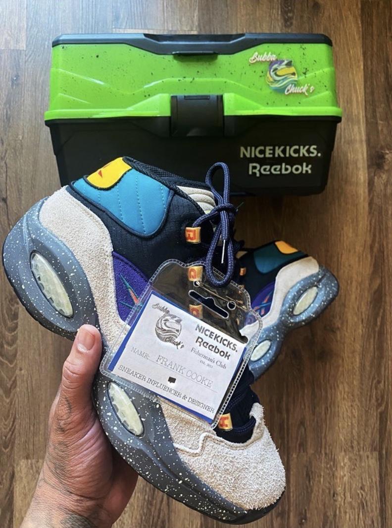 "Nice Kicks x Reebok Question Mid ""Bubba Chuck"""