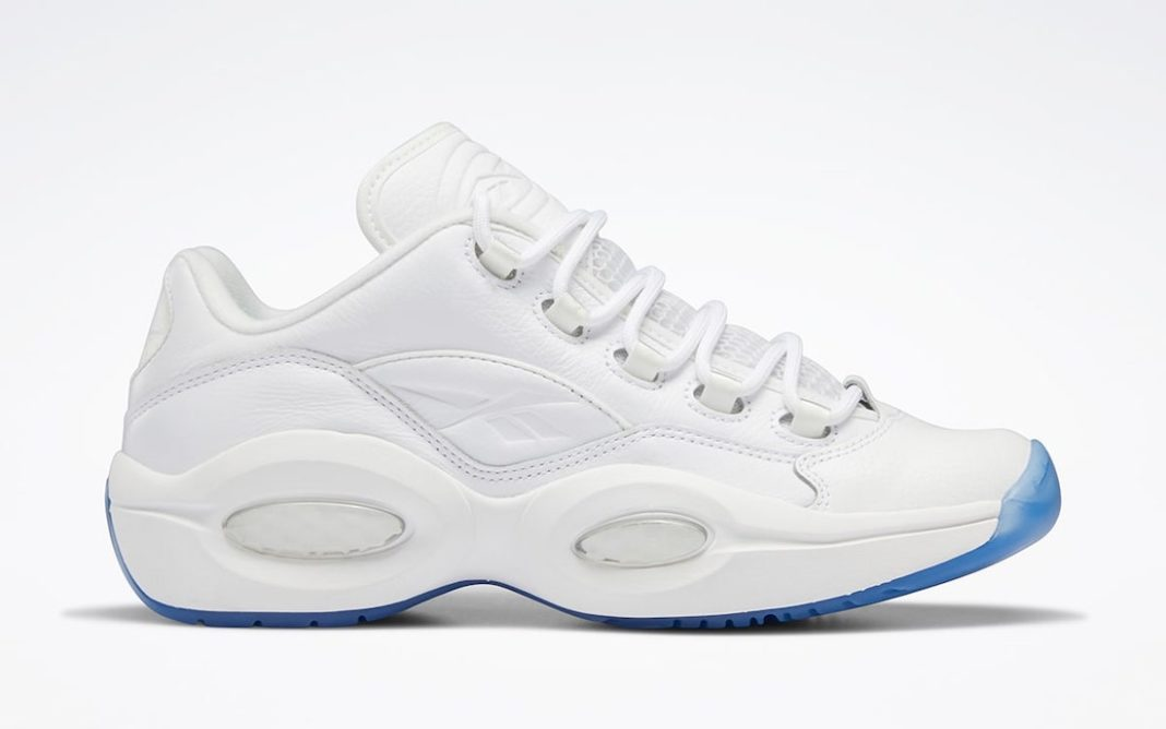 """Reebok Question Low """"White Ice""""<"""