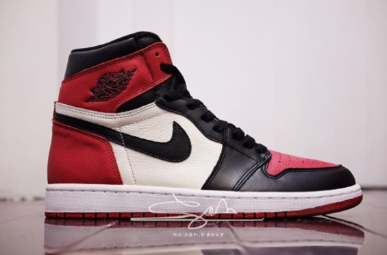 Air Jordan 1 High OG Bred Toe