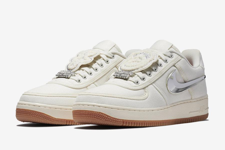 Travis Scott x Nike Air Force 1 Low Release Date