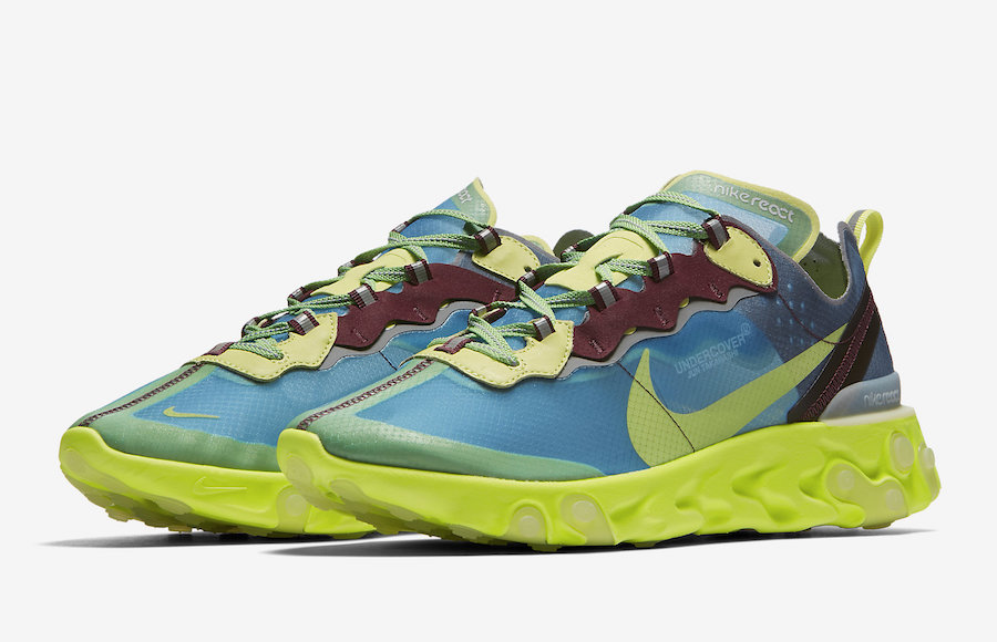 UNDERCOVER x Nike React Element 87 Release Date