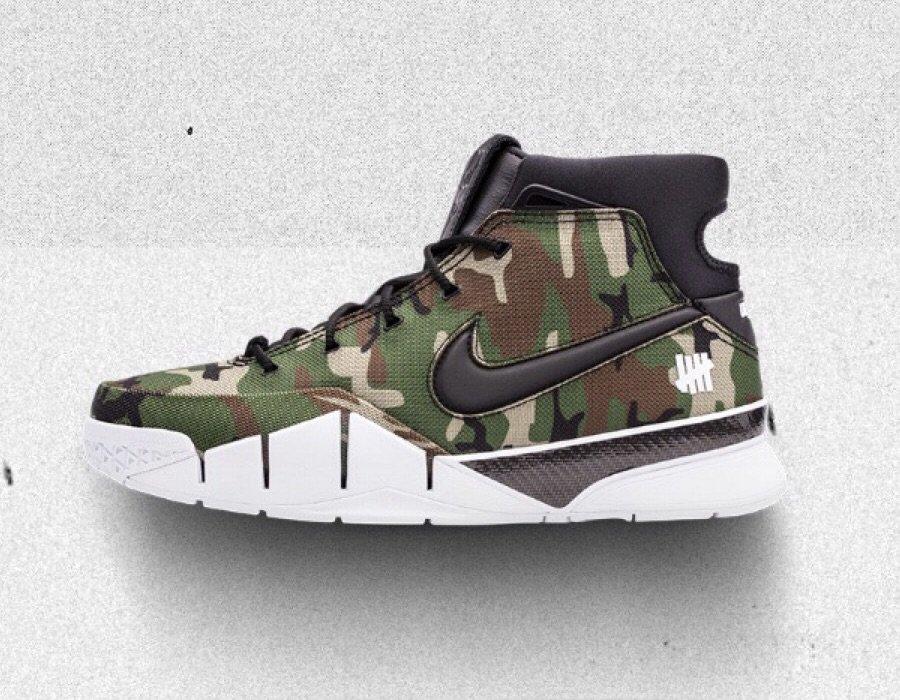 Undefeated x Nike Kobe Protro Release Date