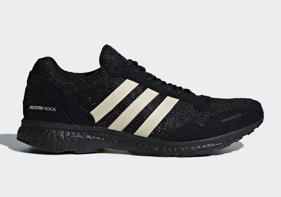 """Undefeated x adidas AdiZero Adios 3 """"Black"""" Release Date"""