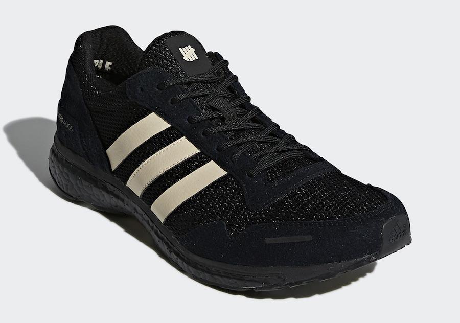 "Undefeated x adidas AdiZero Adios 3 ""Black"""
