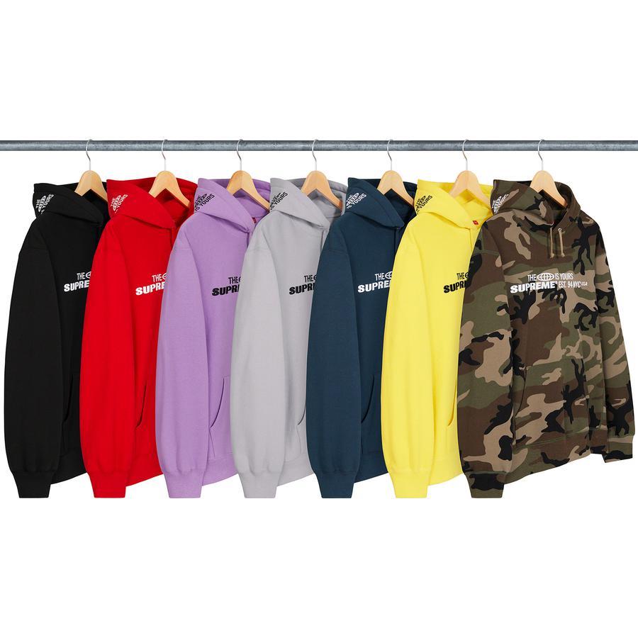 World Is Yours Hooded Sweatshirt<