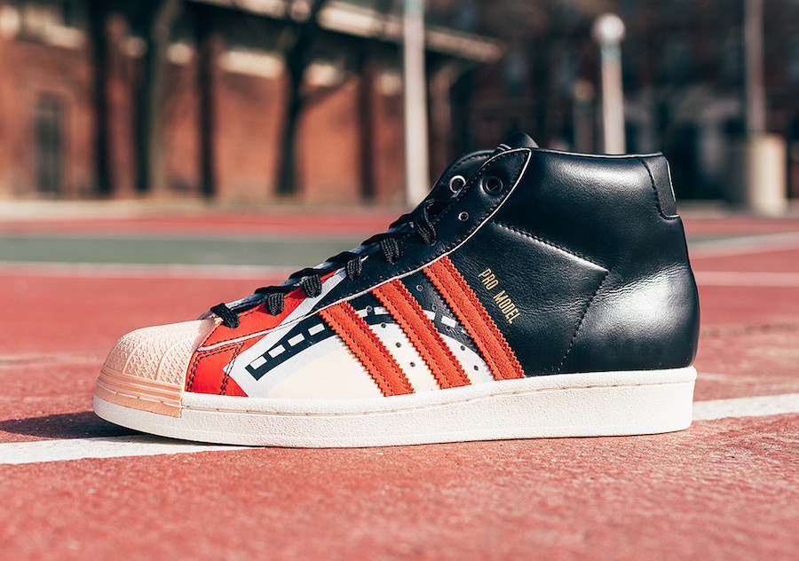 "Jasmine Jones x adidas Pro Model ""Heat Court"""
