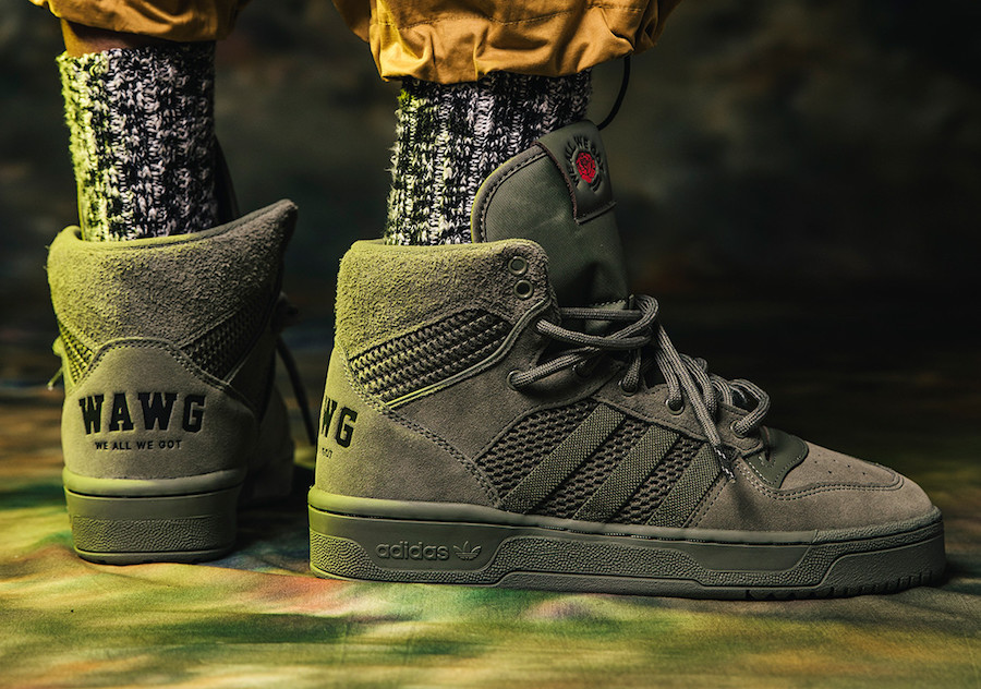 "Fat Tiger Workshop x adidas Rivalry Hi ""We All We Got"""
