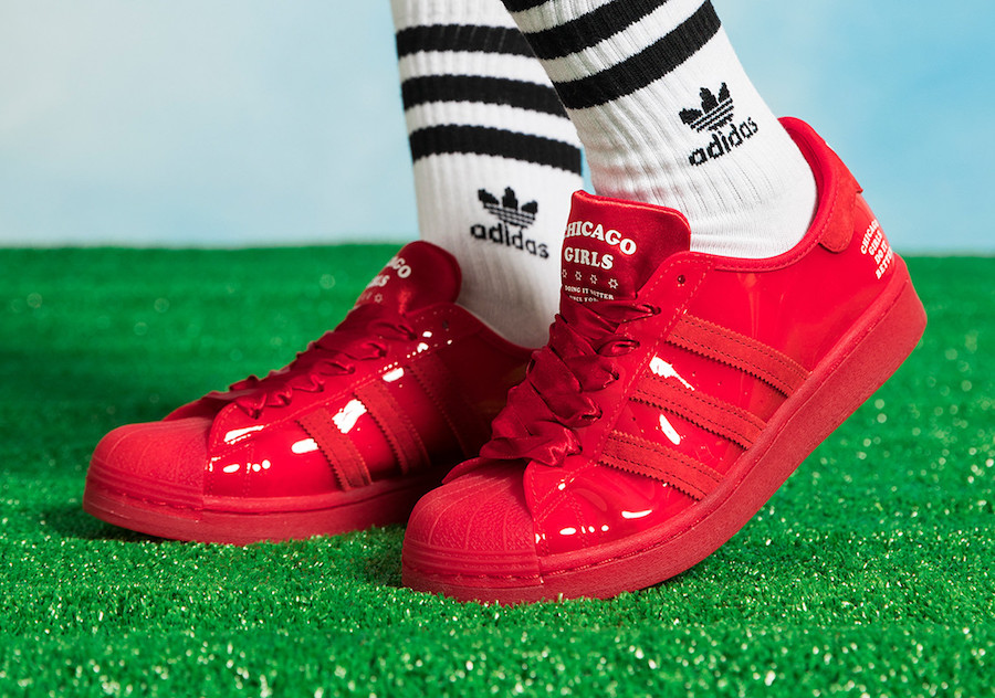 "Fat Tiger Workshop x adidas Superstar ""Chicago Girls Do It Better"""
