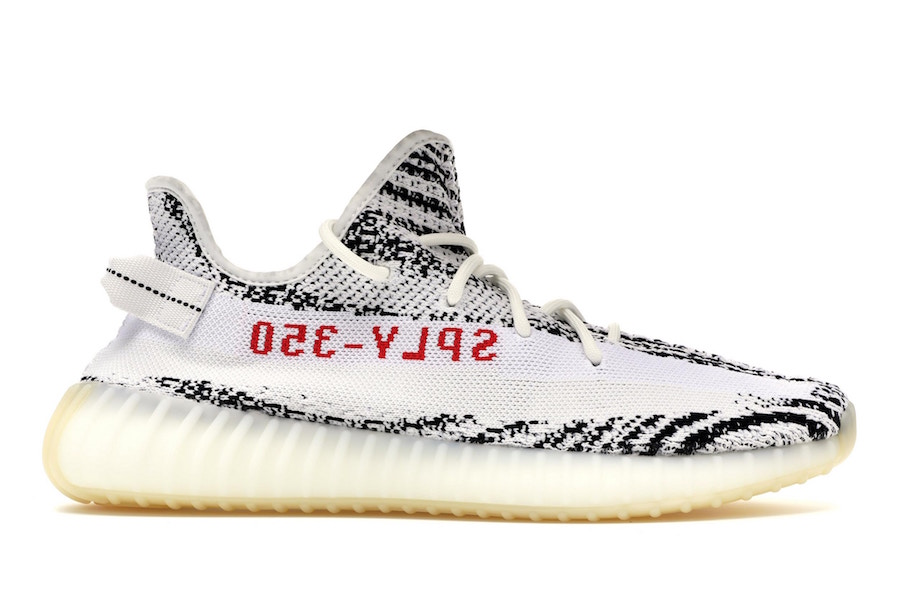 """adidas Yeezy Boost 350 V2 """"Zebra"""" (Restock)"""
