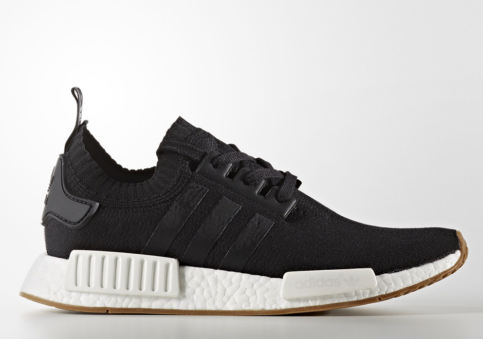 "adidas NMD R1 Primeknit ""Gum Pack"" Release Date"