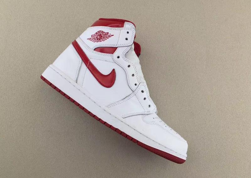 "Air Jordan 1 Retro High OG ""Metallic Red"" Release Date"