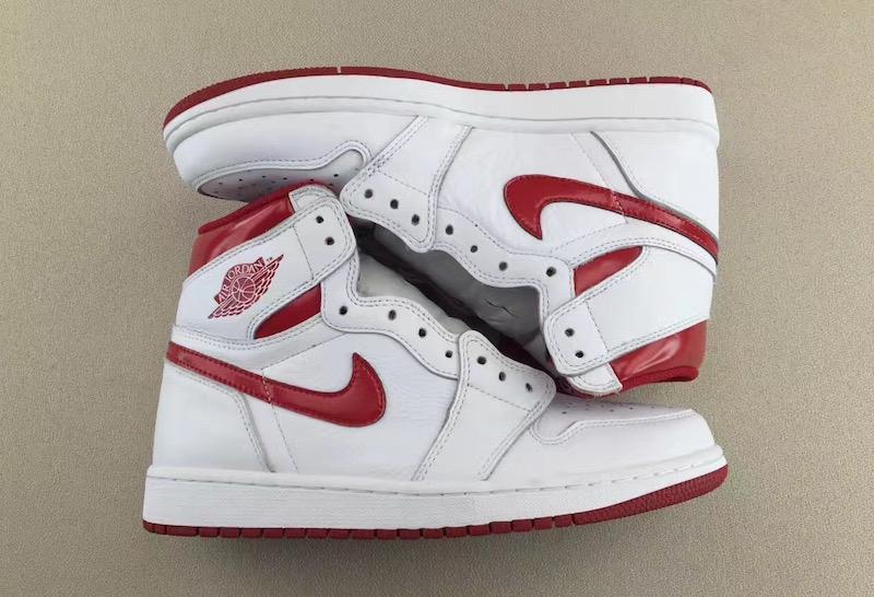 "Air Jordan 1 Retro High OG ""Metallic Red"""