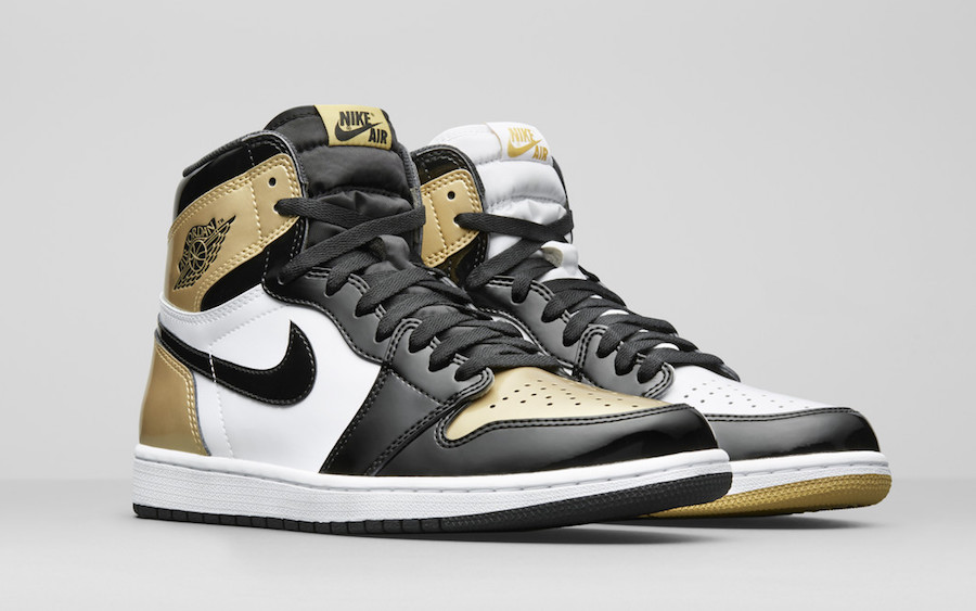 "Air Jordan 1 ""Top 3 Gold"""