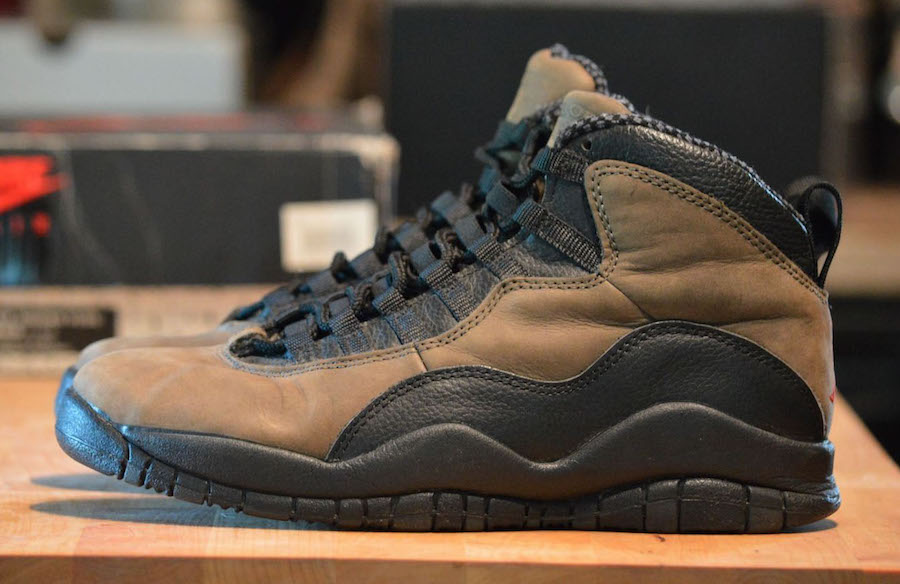 "Air Jordan 10 ""Dark Shadow"""