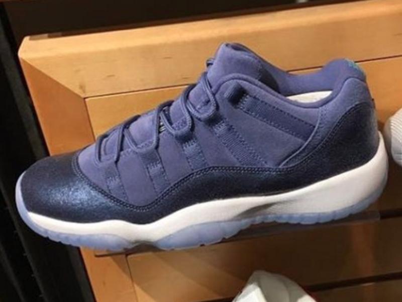 "Air Jordan 11 Low GS ""Blue Moon"" Release Date"