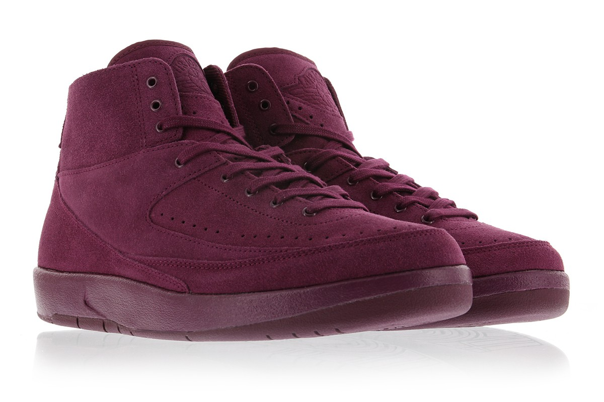 "Air Jordan 2 Deconstructed ""Bordeaux"" Release Date"