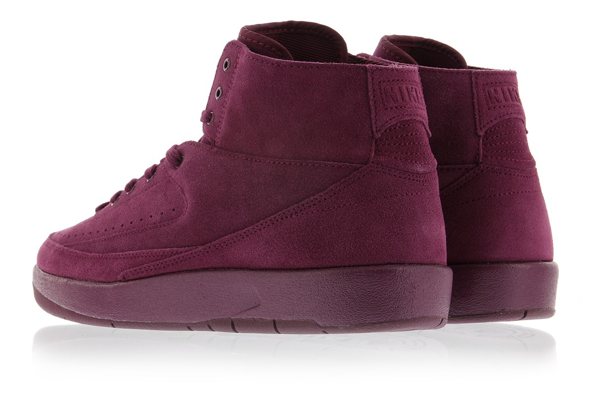 "Air Jordan 2 Deconstructed ""Bordeaux"""