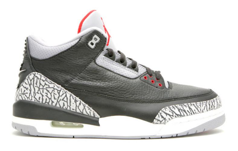 "Air Jordan 3 OG ""Black Cement"" Release Date"