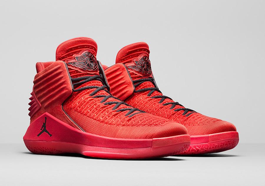 "Air Jordan 32 ""Rosso Corsa"" Release Date"