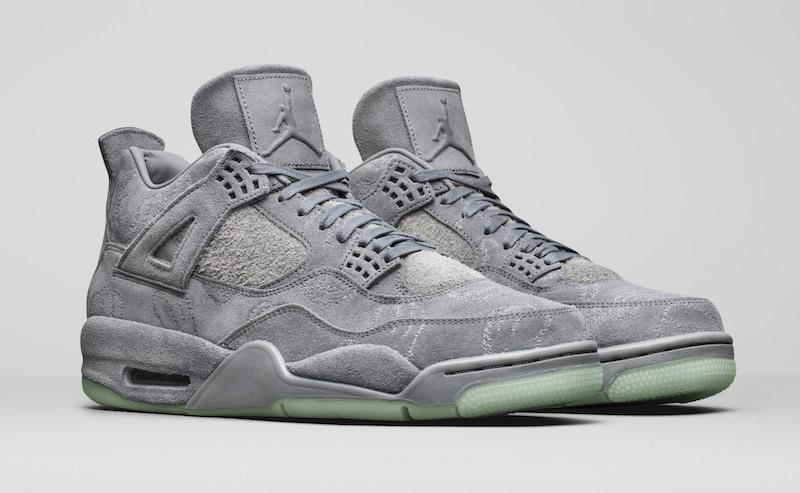"""Air Jordan 4 """"KAWS"""" Release Date"""