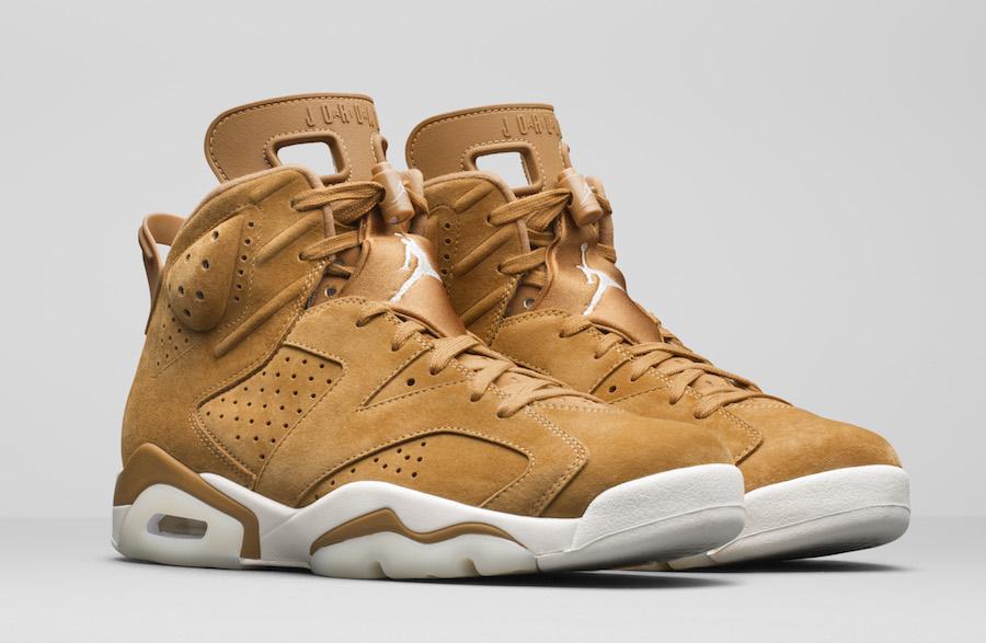 "Air Jordan 6 ""Wheat"" Release Date"