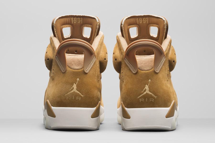 """Air Jordan 6 """"Wheat"""""""