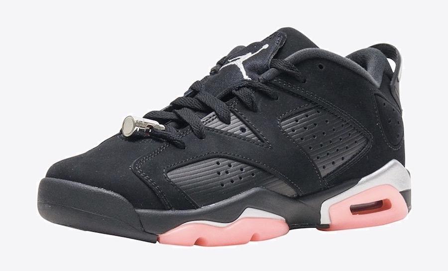 """Air Jordan 6 Low GS """"Sunblush"""" Release Date"""