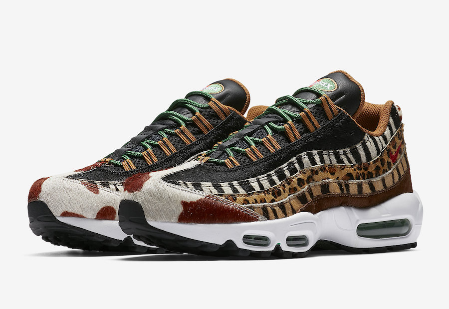 "atmos x Nike Air Max 95 DLX ""Animal Pack"""