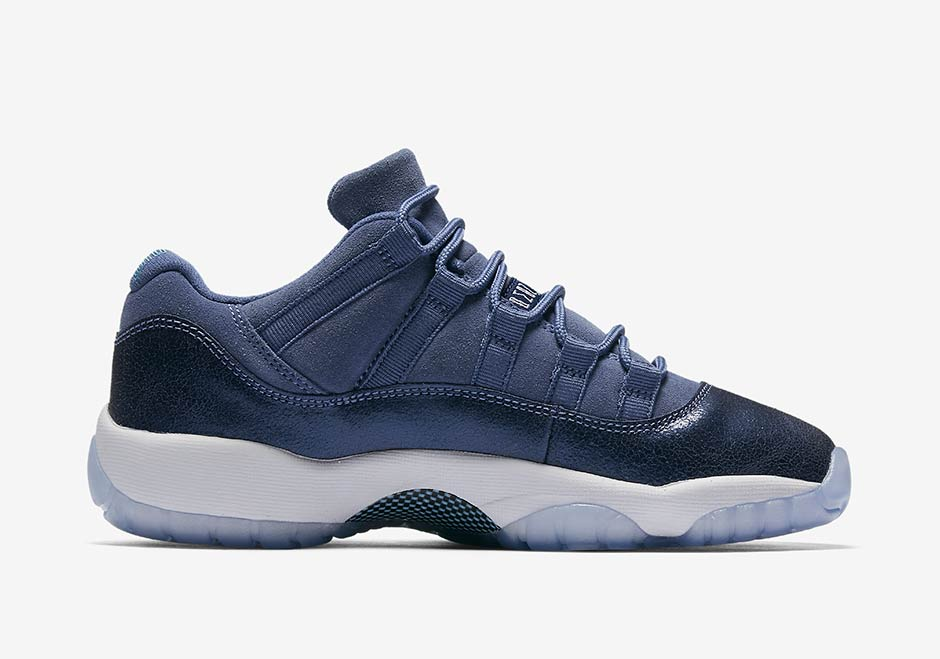 "Air Jordan 11 Low GS ""Blue Moon"""