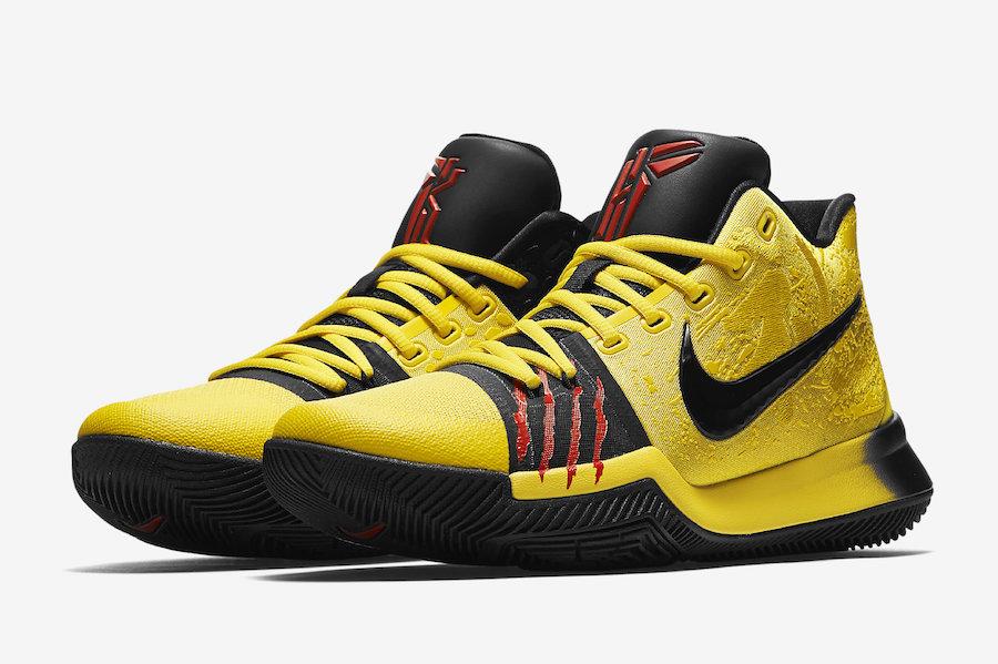 """Nike Kyrie 3 """"Bruce Lee"""""""