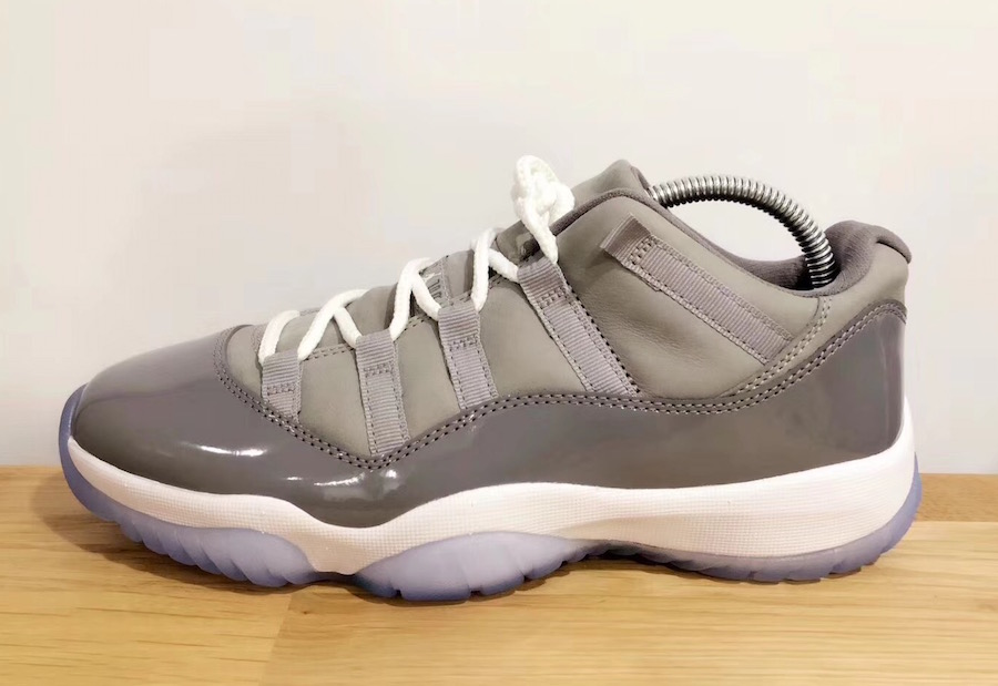 "Air Jordan 11 Low ""Cool Grey"""