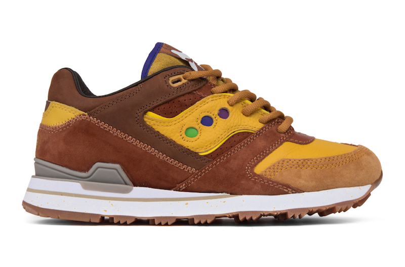 """Feature x Saucony Courageous """"Belgian Waffle"""" Release Date"""