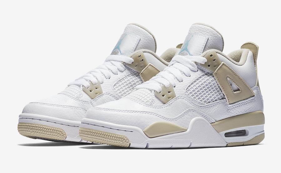 """Air Jordan 4 GS """"Linen"""""""