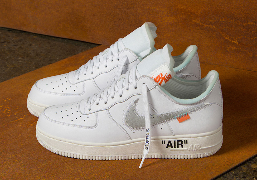 Off-White x Nike Air Force 1 Low Release Date