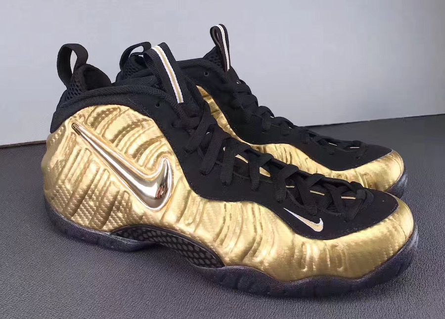 "Nike Air Foamposite Pro ""Metallic Gold"""