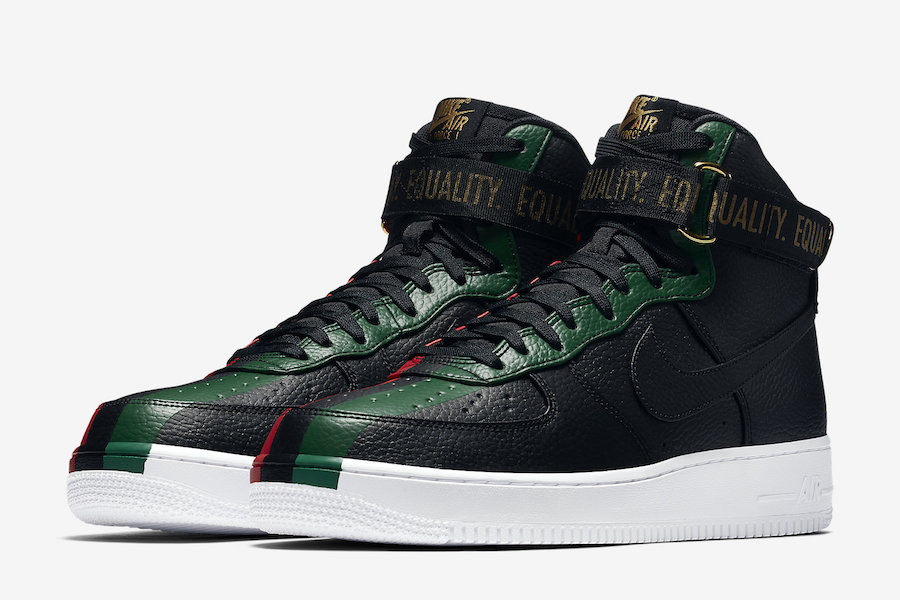 Nike Air Force 1 High BHM QS Release Date