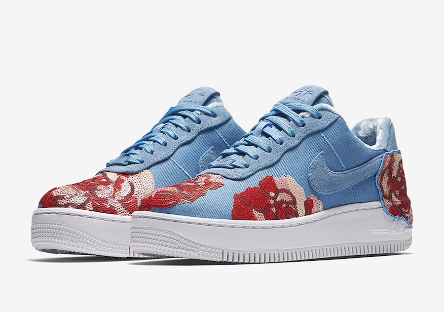 """Nike Air Force 1 Low """"Floral Sequin"""" Pack"""