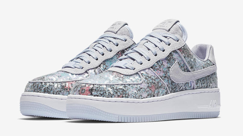 """Nike WMNS Air Force 1 Upstep Low """"Palest Purple"""" Release Date"""