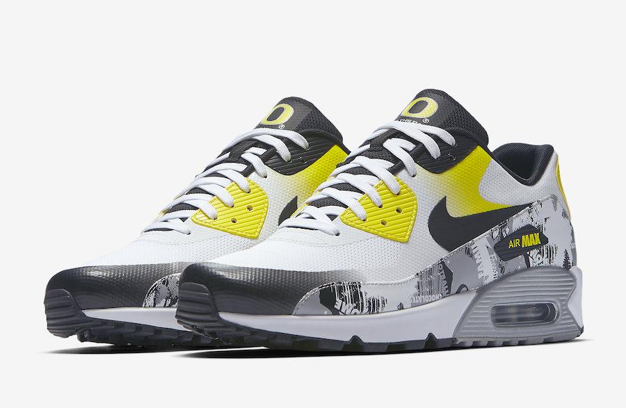 """Nike Air Max 90 Ultra 2.0 """"Oregon"""" Release Date"""