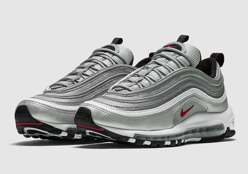 """Nike Air Max 97 OG QS """"Silver Bullet"""" Release Date"""
