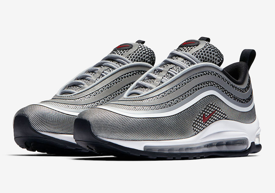 """Nike Air Max 97 Ultra '17 """"Silver Bullet"""" Release Date"""