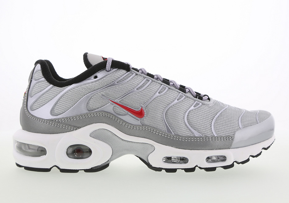 "Nike Air Max Plus ""Silver Bullet"" Release Date"