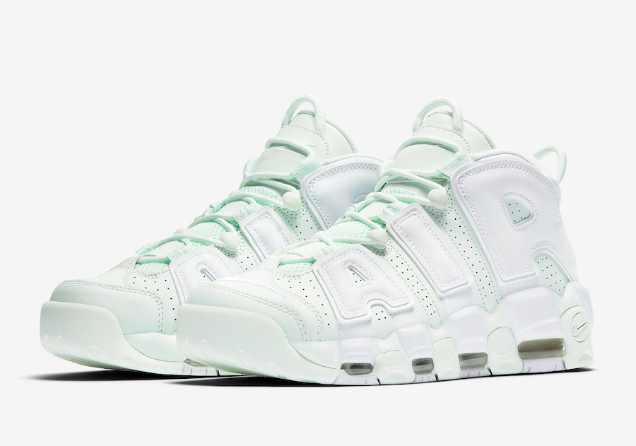 "Nike Air More Uptempo ""Barely Green"" Release Date"