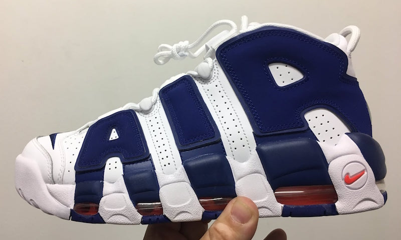 """Nike Air More Uptempo """"Knicks"""" Release Date"""