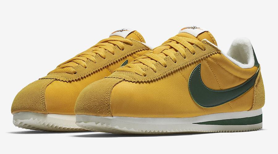 """Nike Cortez Nylon """"Oregon"""" Release Date"""