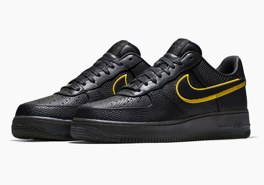 Nike Air Force 1 Low Black Mamba Release Date
