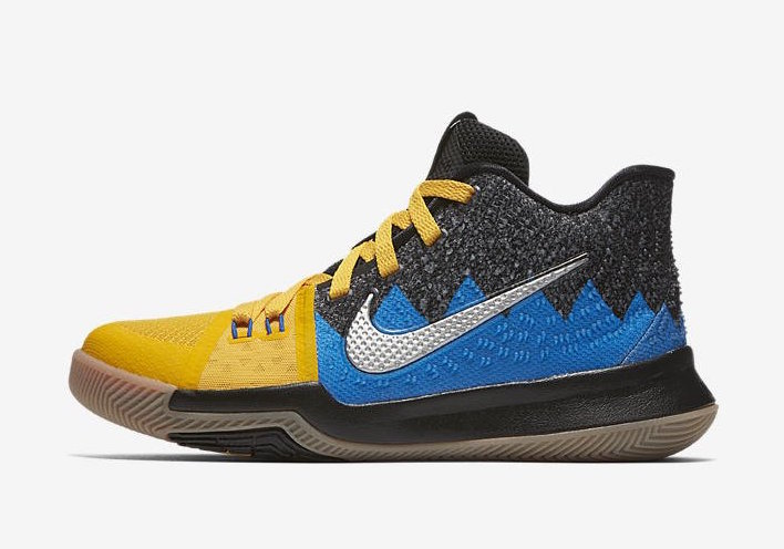"Nike Kyrie 3 GS ""What The"" Release Date"