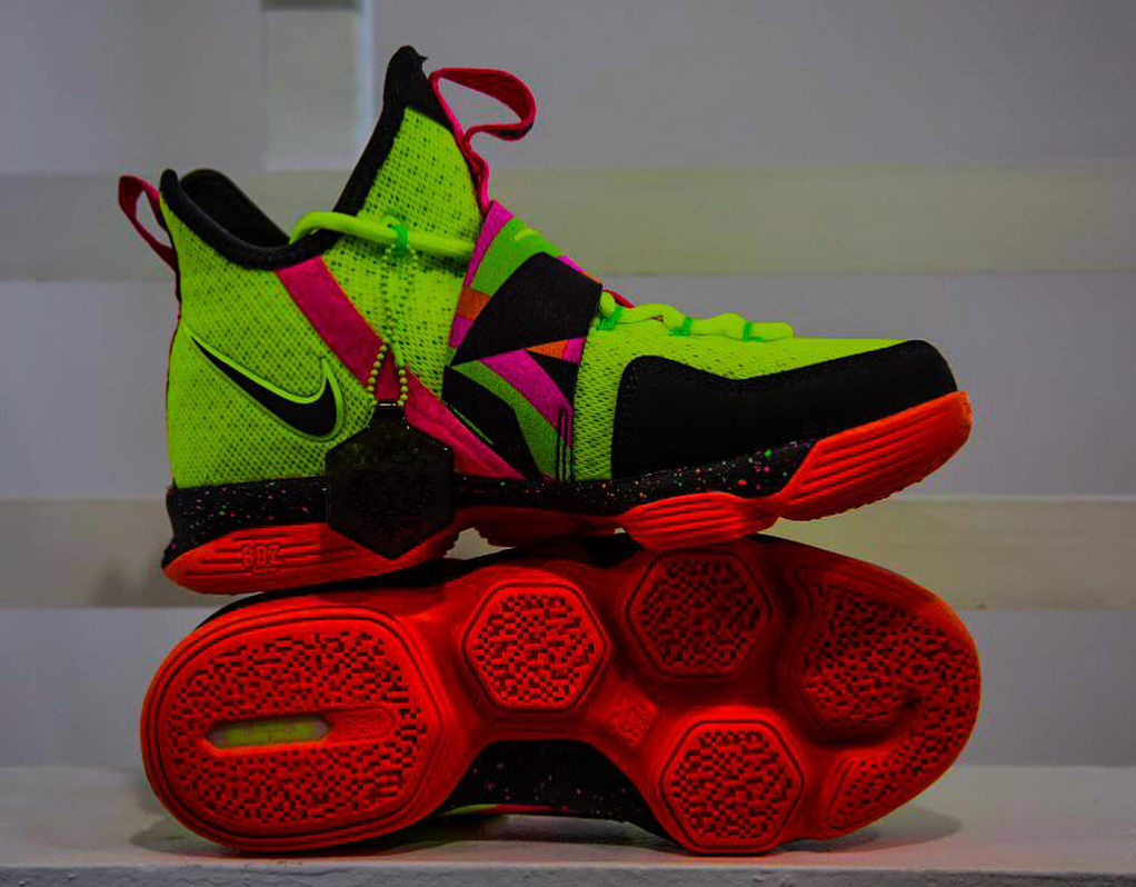"Nike LeBron 14 GS ""Ultimate Warrior"""